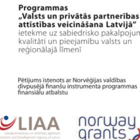 """Programmas """"PPP attīstības veicināšana Latvijā"""" ietekme uz sabiedrisko pakalpojumu kvalitāti un pieejamību valsts un reģionālajā līmenī (2011)"""